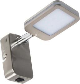 Nino Yuna Spotlight Wall Lamp 4W LED Nickel
