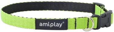 Ошейник Amiplay Twist, зеленый, 400 мм