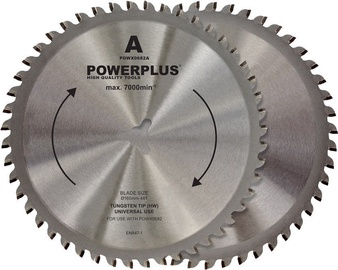 Powerplus POWX0682A 160mm 48T Saw Blade 2pcs