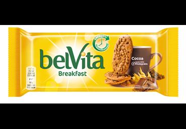 Sausainiai Belvita su šokoladu, 50 g