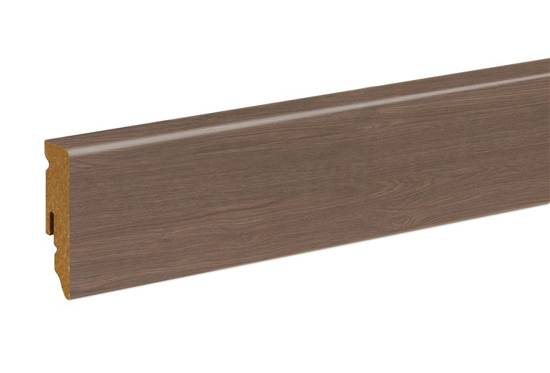 Neuhofer Holz Skirting Board 240x5.8x1.5cm Dark Oak