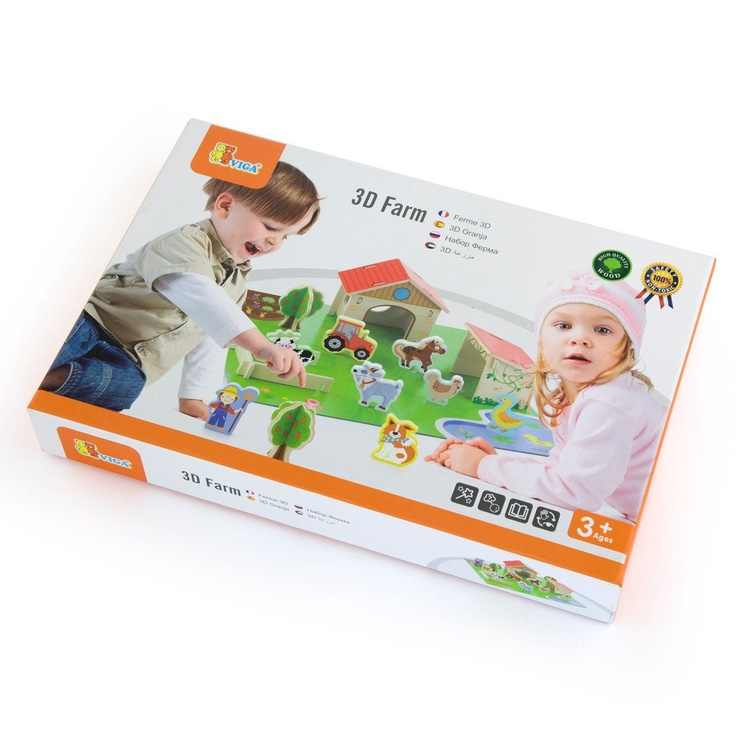Viga 3D Farm Set 50540