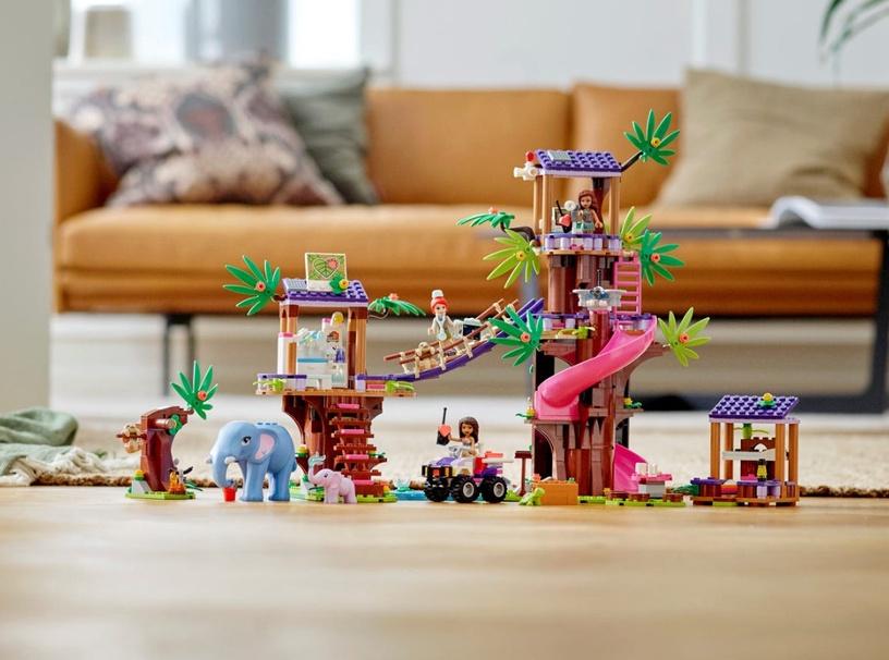 Konstruktorius LEGO® Friends 41424 Džiunglių gelbėjimo bazė