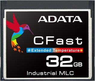Adata 32GB CFast Card Normal Temp MLC Extended Temperature