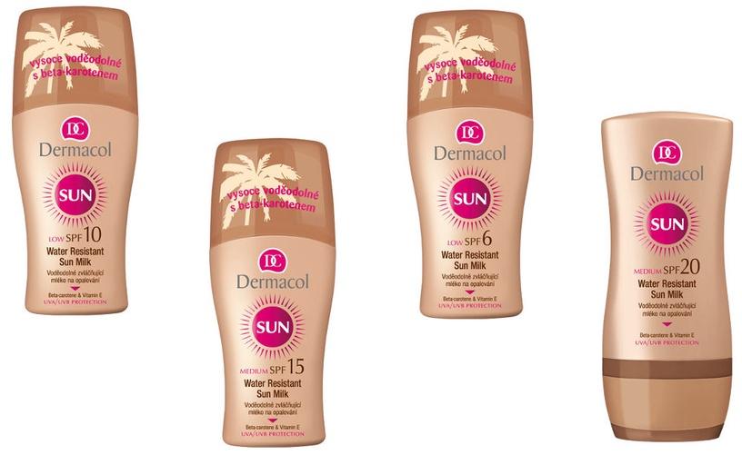 Dermacol Sun Milk Spray SPF6 200ml