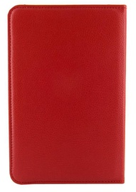 """4World Protective Rotary Case/Stand For Samsung Galaxy Tab 2 7"""" Red"""