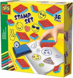 SES Creative Emoticons Stamp Set 14961