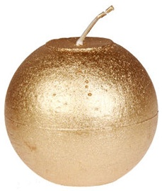 Verners Rustic Candle 8cm Gold