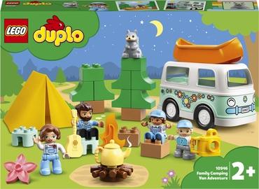 Конструктор LEGO Duplo Family Camping Van Adventure 10946,, 30 шт.