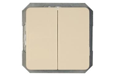 Slēdzis Vilma Electric P610-020-02 LX200 Switch Ivory