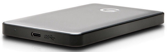 G-Technology G-DRIVE Mobile USB-C 4TB Silver