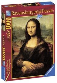Puzle Ravensburger Da Vinci Mona Lisa, 1000 gab.