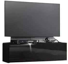 TV galds Pro Meble Arsenal 105 Black, 1050x320x300 mm