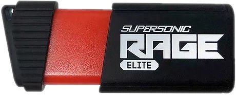USB atmintinė Patriot Supersonic Rage Elite Black, USB 3.1, 1 TB