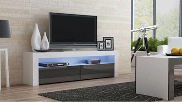 TV galds Pro Meble Milano 157 White/Grey, 1575x350x500 mm