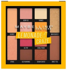 Maybelline Lemonade Craze Eyeshadow Palette 12g 01
