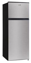 Frigelux Fridge RFDP212AVCM Stainless Steel/Black
