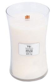 Kvepianti žvakė WoodWick Teak White, 610 g