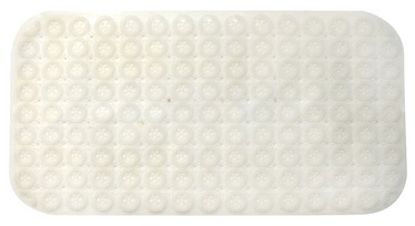 Futura Anti Slip Bath Mat 71x38cm White
