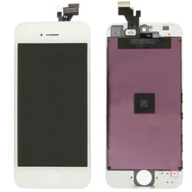 Apple LCD Display For Apple iPhone 5s White