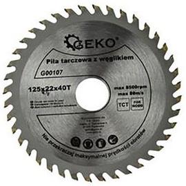 Geko Circular Saw Blade For Wood TCT 125x22x40T