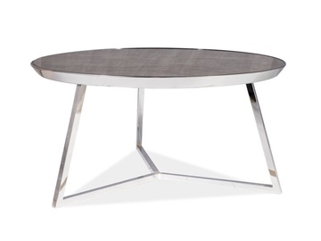Signal Meble Temida B Coffee Table Marble/Chrome