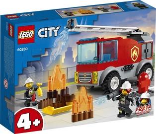 Konstruktorius LEGO City Fire kopečių sunkvežimis 60280