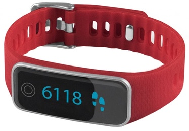 Išmanioji apyrankė Medisana ViFit Touch Activity Tracker Red