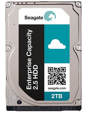 Seagate Enterprise Capacity 2.5 2TB 7200RPM SAS 128MB ST2000NX0273