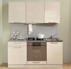 Virtuvės baldų komplektas MN Simpl 1700 White, 1.7 m