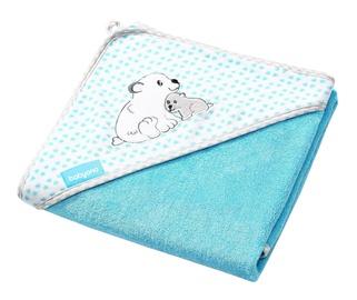 BabyOno Hooded Towel 76x76cm Blue
