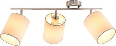 Nino Rondo Spotlight Ceiling Lamp 3x40W E14 Nickel