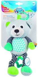 Canpol Babies Soft Musical Toy Bear Grey 68/053