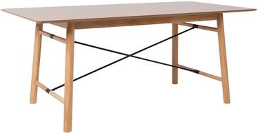 Home4you Emerald Table 180x90x75cm Oak