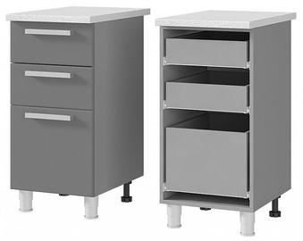 BTS Arabika 4P3 Kitchen Bottom Cabinet Grey