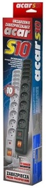 HSK Data Power Strip 10 Outlet Grey 1.5m