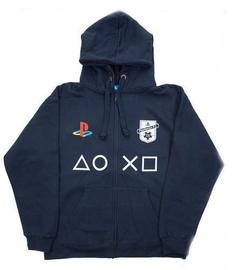 Свитер Licenced Playstation FC Zip-Up Hoodie Dark Blue S