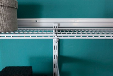 SN Double Wire Shelf 10718-00010 1800x400mm Silver
