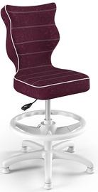 Детский стул Entelo Petit HC+F Size 3 VS07 White/Purple, 335x300x895 мм
