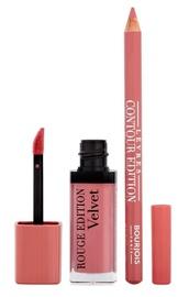 BOURJOIS Paris Rouge Edition Velvet 7.7ml 10 + Contour Lip Liner 1.14g 2