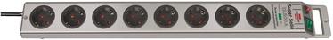 Удлинитель Brennenstuhl Super-Solid Extension Socket With Surge Protection 8way, 2.5 м