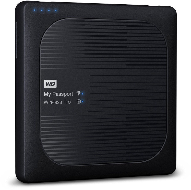 Western Digital 1TB My Passport Wireless Pro Black