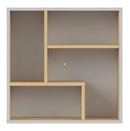 Seinariiul Black Red White Nandu, hall/tamm, 56x22x56 cm