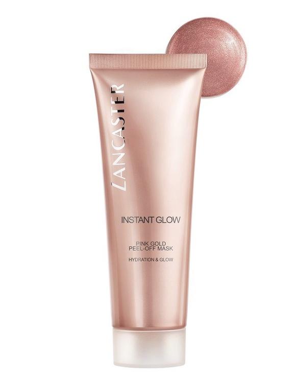 Veido kaukė Lancaster Instant Glow Peel-Off Mask Pink Gold Hydration & Glow, 75 ml