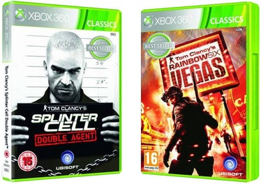 Tom Clancy's Double Pack: Splinter Cell Double Agent Rainbow Six Vegas Xbox 360