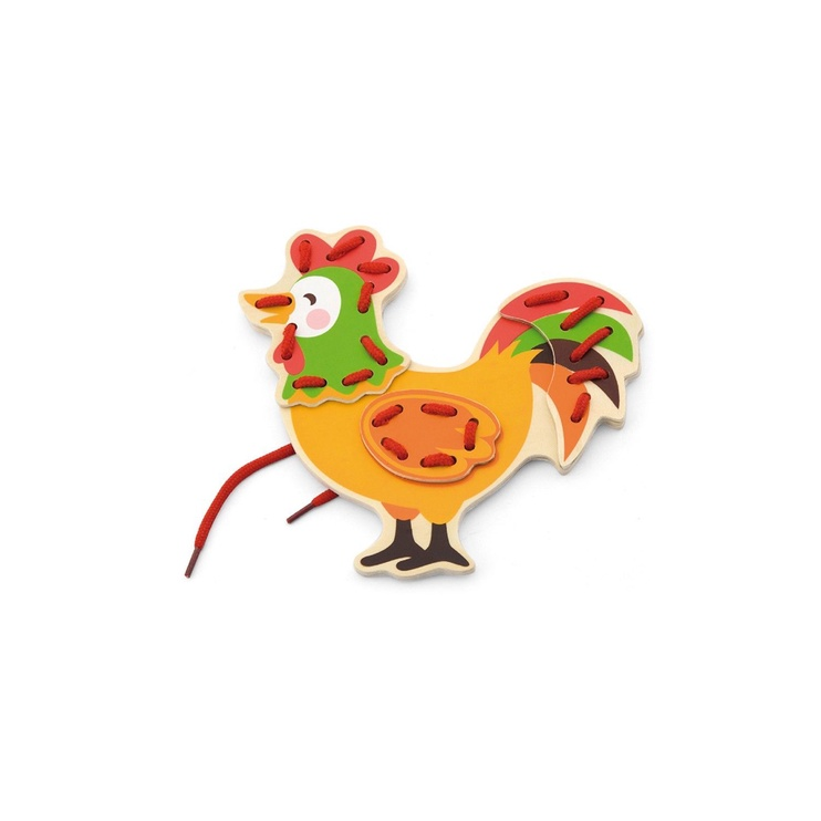 Viga Lacing Farm Animals 51325