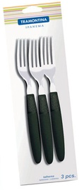 Tramontina Ipanema Table Fork Black 3pcs