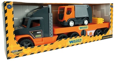 Wader Super Tech Tow Truck With Garbage Truck 36730