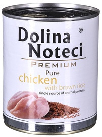 Dolina Noteci Premium Pure Chicken & Brown Rice 800g