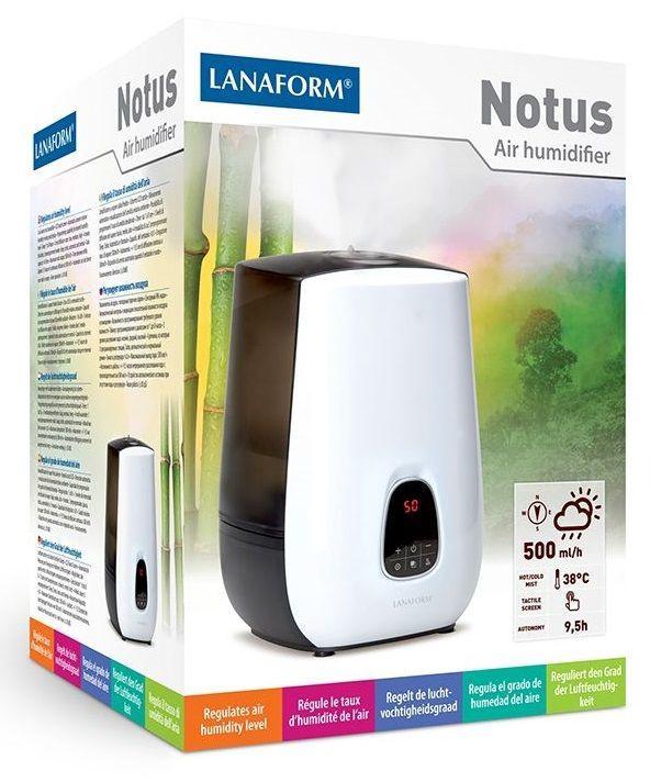 Lanaform Humidifier Notus LA120117 White & Black